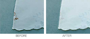 Stain-Before and After